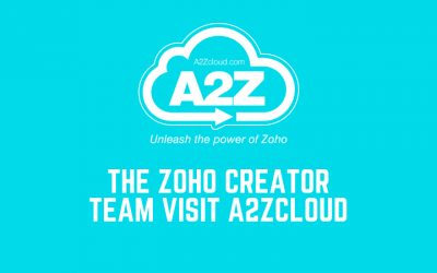 The Zoho Creator Team Visit A2ZCloud