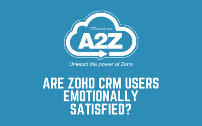 Are Zoho CRM Users Emotionally Satisfied?