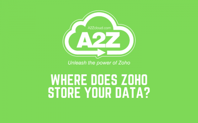 Where Does Zoho Store Your Data?