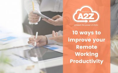 10 ways to improve your Remote Working Productivity
