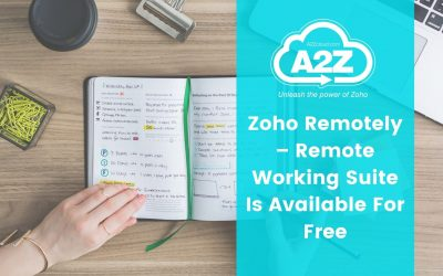 Zoho Remotely – Remote Working Suite Is Available For Free
