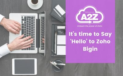 It's time to Say 'Hello' to Zoho Bigin