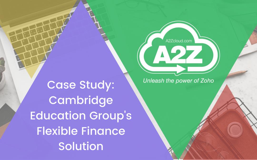 Cambridge Education Group (CEG) Case Study
