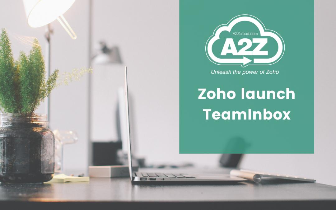 Zoho Launch TeamInbox