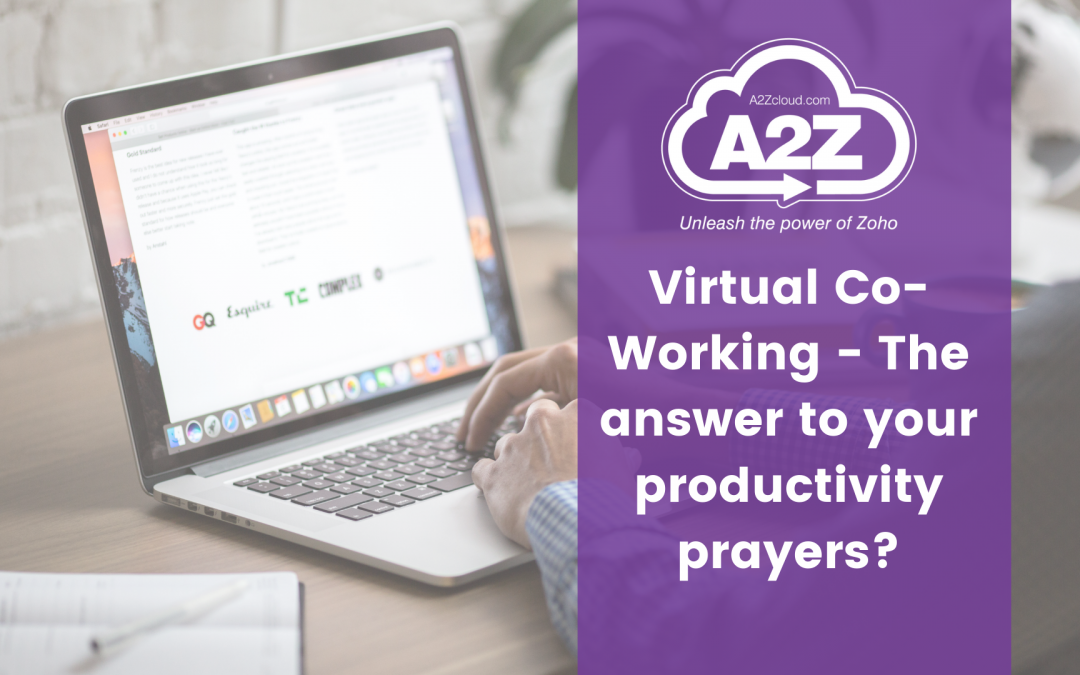 Virtual Co-Working – The answer to your productivity prayers?